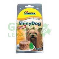 Gimborn Shiny dog konz. - tuňák, hovězí 2x85g