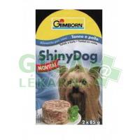 Gimborn Shiny dog konz. - tuňák, kuře 2x85g
