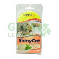 Gimpet Shiny cat konz. - kuře 2x70g