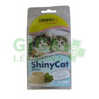 Gimpet Shiny cat konz. Junior - kuře 2x70g