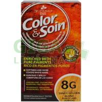 Color & Soin 8G - Světlá zlatá blond 135ml