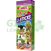 Darwins tyč Vital křeček,myš,potkan-ryba, zelen 2ks