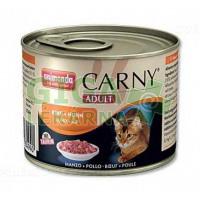 Animonda Carny cat konz. - hovězí + kuřecí 200g