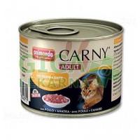 Animonda Carny cat konz. - kuřecí + kachní 200g