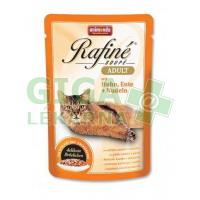 Animonda Rafine Soupe cat kaps. - kuře+kachna+těst 100g