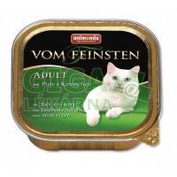 Animonda VomFeinsten Clas. cat van.- krůta, králík 100g