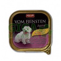 Animonda VomFeinsten dog van.Junior - kuře, krůta 150g