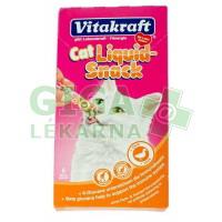 Vitakraft snack cat Liguid kachna + ß-glucan 6x15g