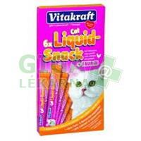 Vitakraft snack cat Liguid taurin/kuře 6x15g