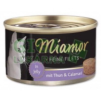 Miamor Feine Filets cat konz. - tuňák, kalamár 100g