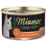Miamor Feine Filets cat konz. - tuňák, vejce 100g