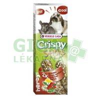 VL Crispy tyč králík, činčila - bylinky 2ks, 110g