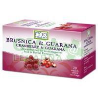 Ovocno-bylinný čaj Brus.+Guarana 20x2g Fytopharma