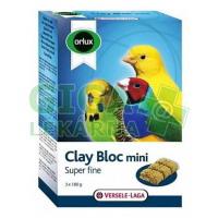 VL Orlux Clay Bloc Mini - andulka, drobní exoti 540g