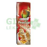 VL Prestige tyč stř. papoušek - oříšky a med 2ks, 140g