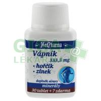 MedPharma Vápník+hořčík+zinek 37 tablet