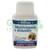MedPharma Multivitamín s minerály 37 tablet