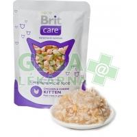 Brit Care Cat kaps. - Kitten Chicken & Cheese 80g