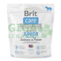 Brit Care Grain Free Dog Junior Large Breed S & P 1kg