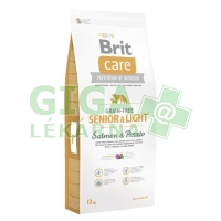 Brit Care Grain Free Dog Senior&Light S & P 12kg