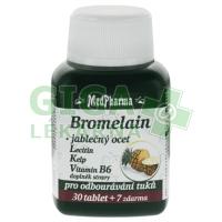 MedPharma Bromelain+jablečný ocet+lecitin 37 tablet