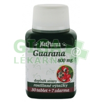 MedPharma Guarana 800mg 37 tablet