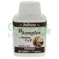 MedPharma B-komplex + vit.C + vit.E 67 tablet