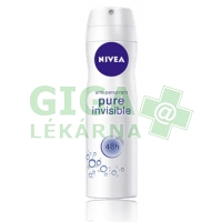NIVEA Deo ženy PURE INVISIBLE sprej AP 150ml 82991