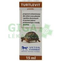 Turtle-vit vitamín pro želvy 15ml
