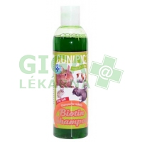 Šampón pro drobné savce Biotina Cunipic 250ml