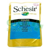 Schesir cat kaps. tuňák 100g