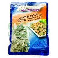 Stuzzy cat kaps. losos 100g