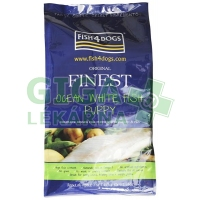 Fish4Dogs Finest Ocean White Fish Puppy Small/Med 12kg