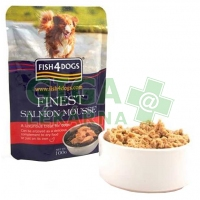 Fish4Dogs kaps. - Finest Salmon Mousse 100g