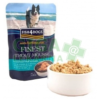 Fish4Dogs kaps. - Finest Trout Mousse 100g
