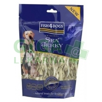 Fish4Dogs pamlsek - Sea Jerky Fish Twists 100g