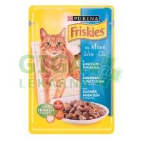 Friskies cat kaps. - losos,tuňák,mrkev ve šťávě 100g