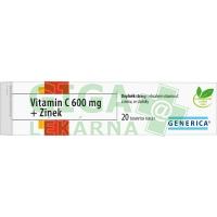 Vitamin C 600mg + Zinek eff.tbl.20
