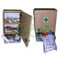 Lékárnička nástěná s náplní do 10 osob - ZM10