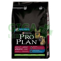 PRO PLAN Dog Adult Large Athletic L+R 3kg