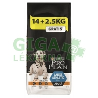 PRO PLAN Dog Adult Large Athletic 14+2,5kg zdarma