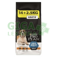 PRO PLAN Dog Adult Large Robust 14+2,5kg zdarma