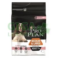 PRO PLAN Dog Adult Medium&Large 7+ Sens.Skin 3kg