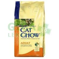 Purina Cat Chow Adult - kuře, krůta 1,5kg