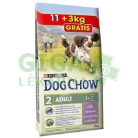 Purina Dog Chow Adult Lamb+Rice 11 + 3kg