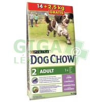 Purina Dog Chow Adult Lamb+Rice 14 + 2,5kg