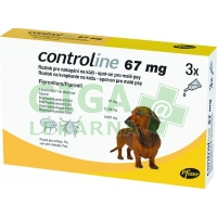 Controline Dog S 67mg a.u.v. sol 3x0,67ml