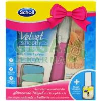 Scholl Velvet smooth balíček el.pil./neht.