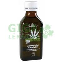 Cannaderm Natura masážní olej stimulační 100ml