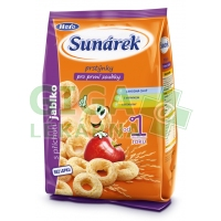 Sunarka dětský snack jablkové prstýnky 50g